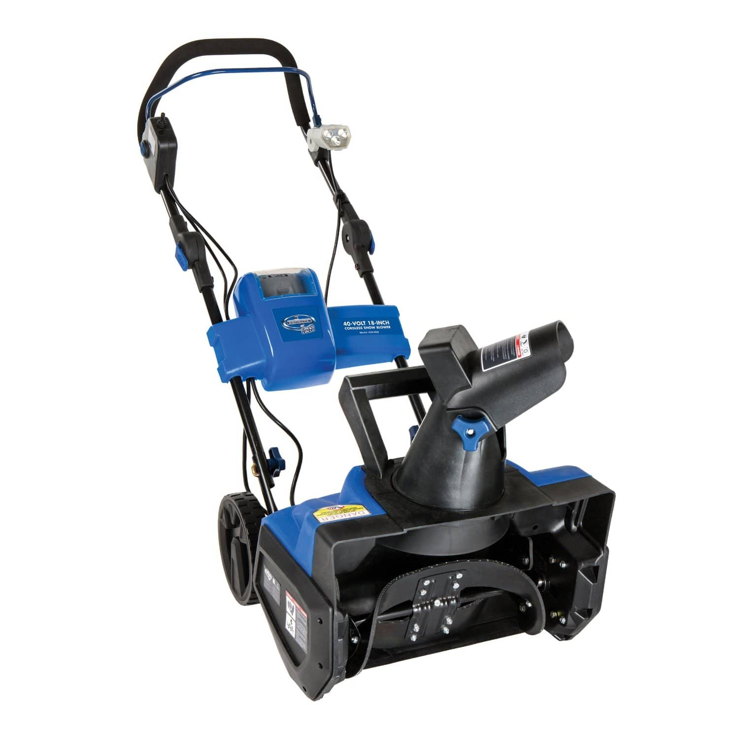 """Snow Joe 40-Volt Lithium-Ion Cordless 18"""" Single Stage Brushless Snow Blower $211 + Free Shipping"""