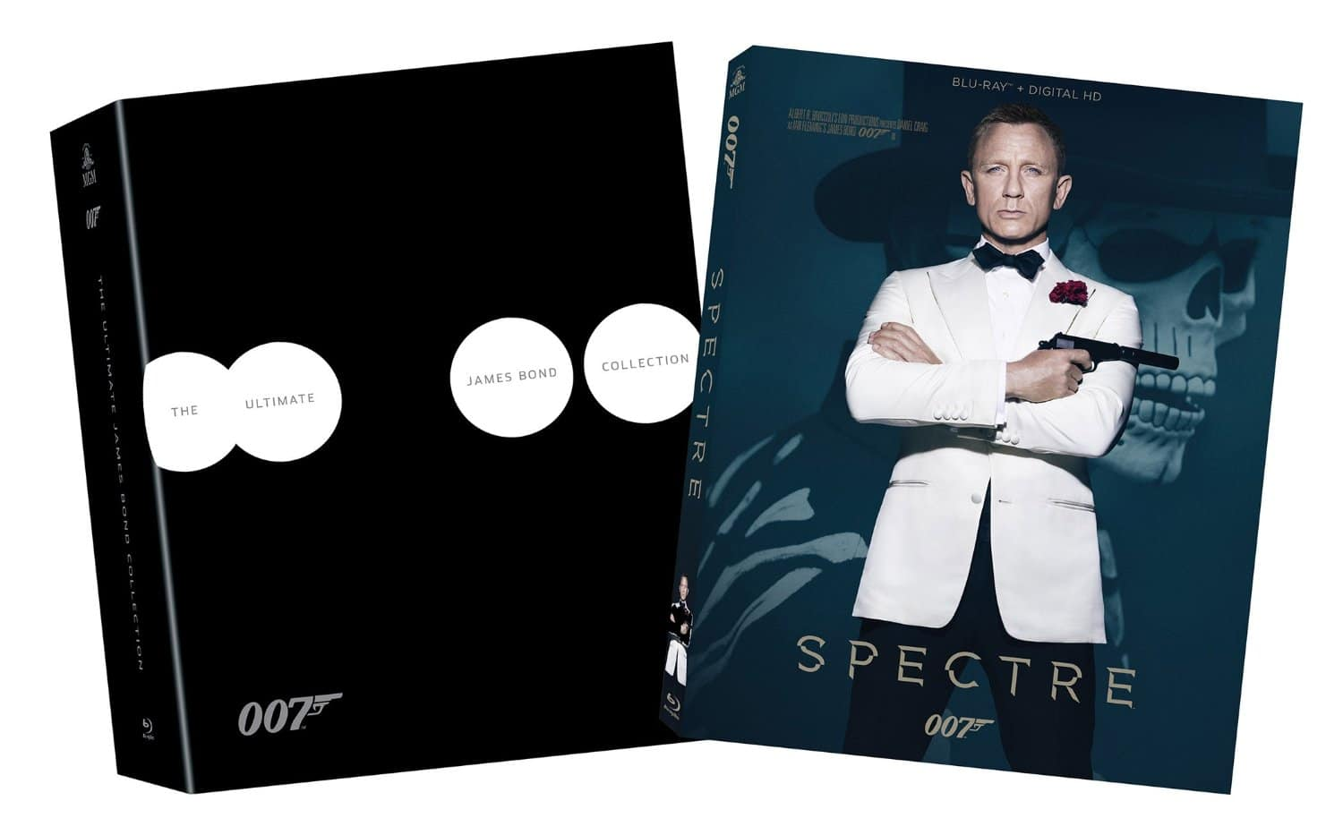 Amazon Prime Members: The Ultimate Bond Collection + Spectre Bundle (Blu-Ray) $89.99 + Free Shipping