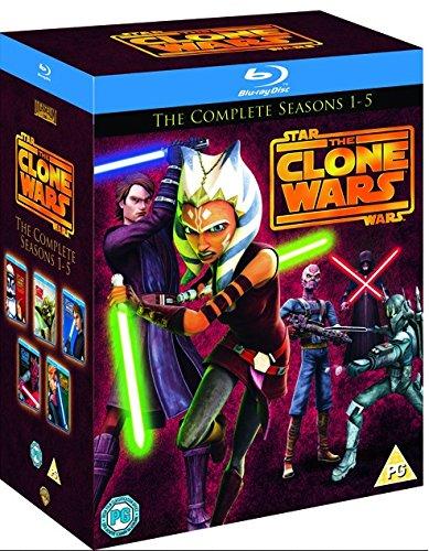 Star Wars: The Clone Wars: Seasons 1-5 (Region Free Blu-ray)  $45
