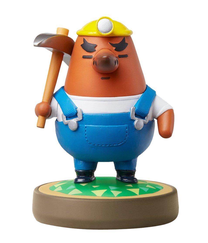 Mr. Resetti Animal Crossing Nintendo Amiibo Figure  $4.30