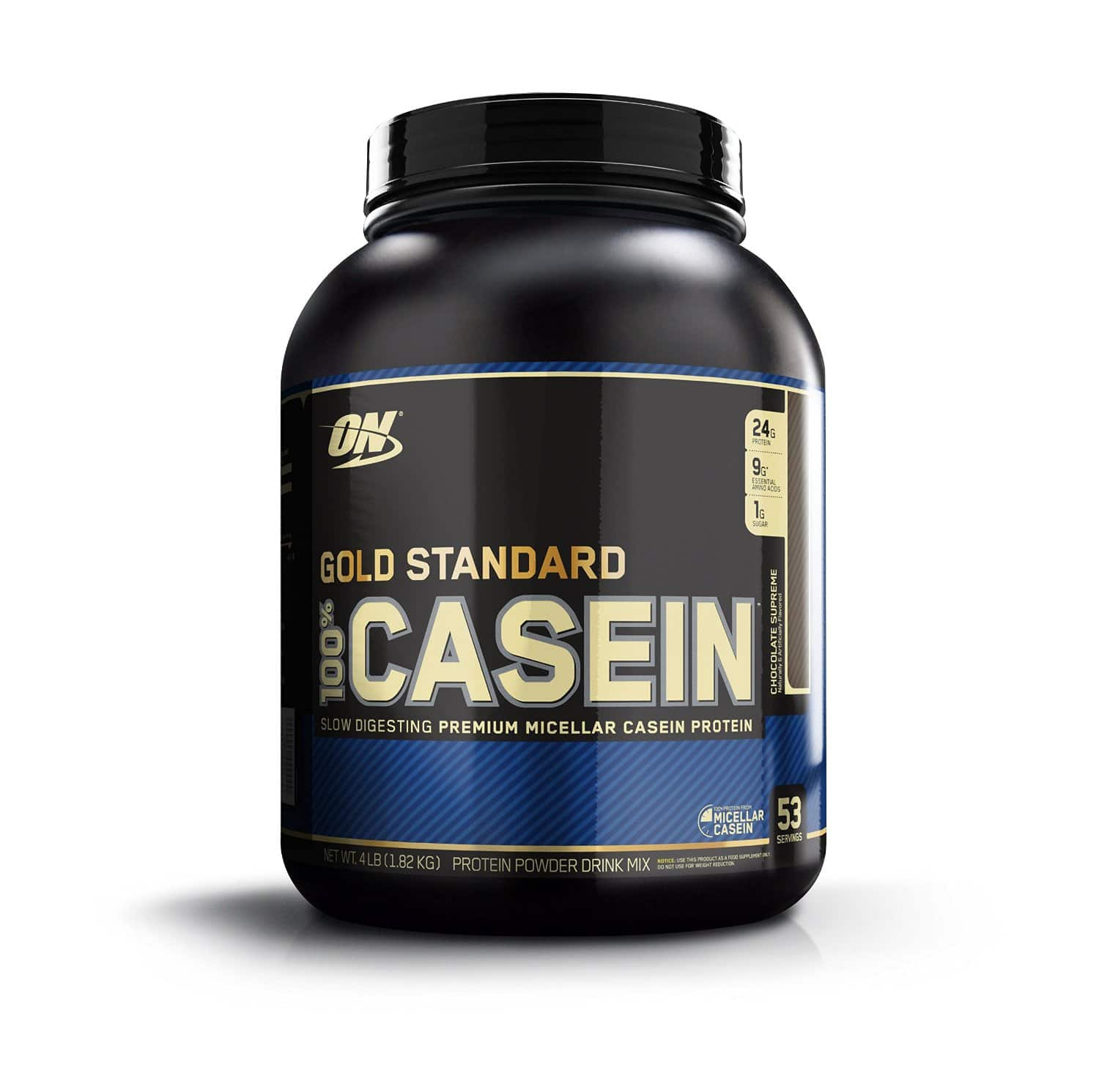 Optimum Nutrition 100% Casein Protein, Chocolate Supreme & other flavours, 4 Pounds 25% off, Comes to $32.37 with 5+ S&S Items or $42.60