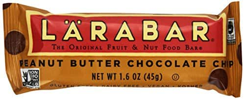 16-Count 1.6oz Larabar Peanut Butter Chocolate Chip Bars $10 Free Shipping /w Prime - Amazon Lightning Deal