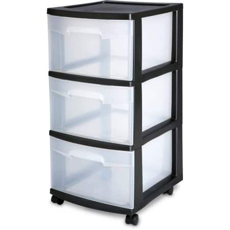 2 Sterilite Drawer Carts for $18 Shipping free