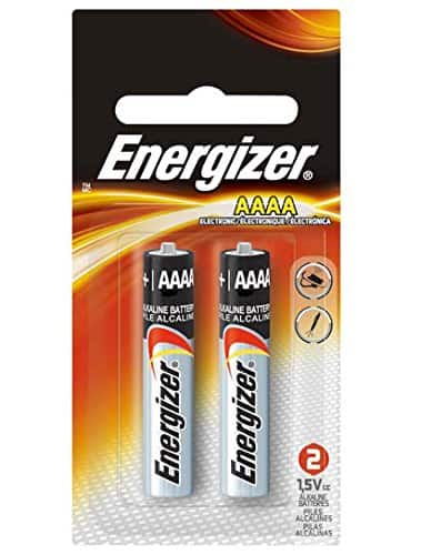 Energizer Max AAAA Size Batteries, 2-Count (Single Pack) for $1.23 or below (S&S) + FS ($25+) (Add-On) (Prime) (Amazon)