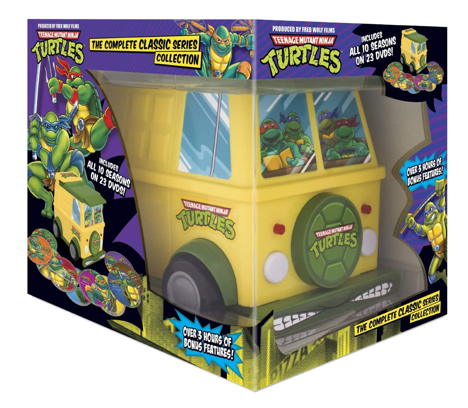 Teenage Mutant Ninja Turtles: The Complete Classic Series Collection (DVD) $47.74 Shipped