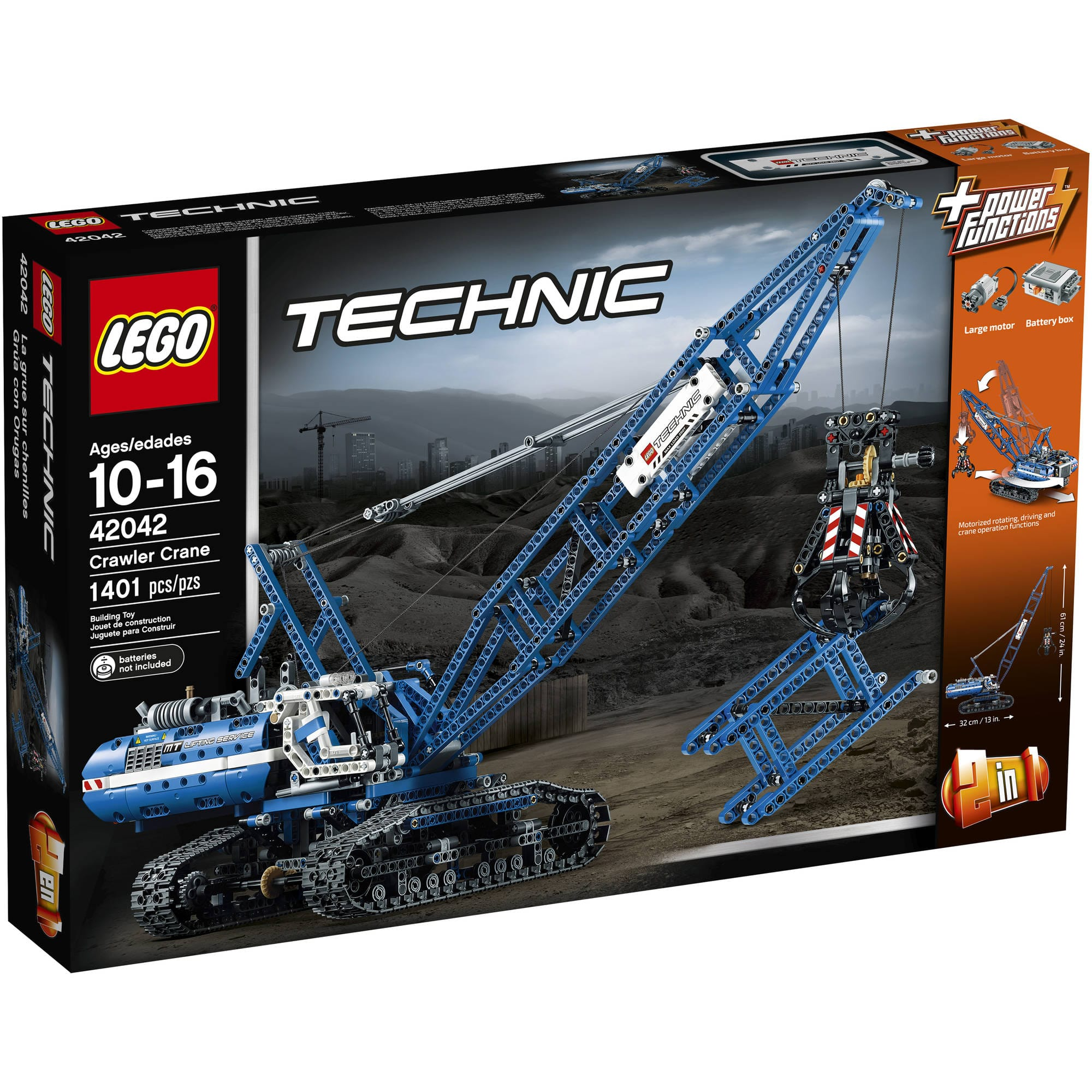 Lego Technic 42042 Crawler Crane for $113.45 Amazon
