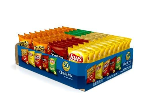 Prime Members: 50-Count Frito-Lay Classic Mix Variety Pack $10.22 or Less + Free Shipping Amazon.com