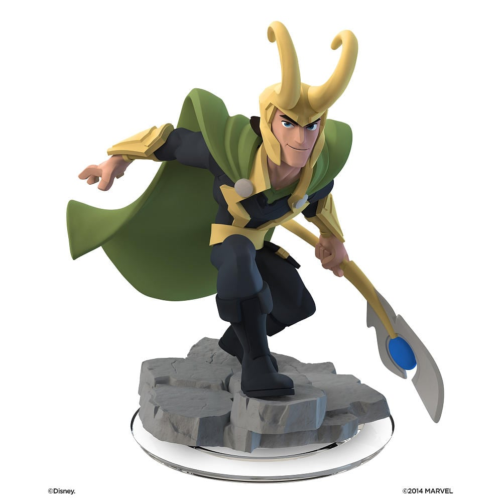 Disney Infinity 2.0 Edition Figures: Loki, Venom, Groot, Captain America, Hulk, Aladdin, Hiro & More $3.74 + Free Store Pickup