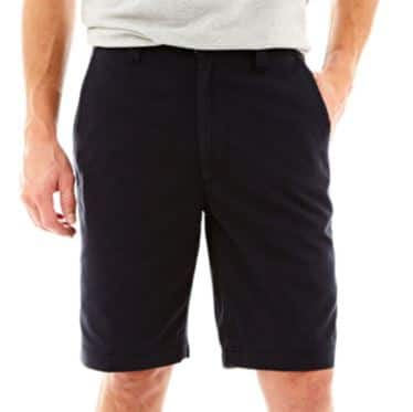 *price drop*St. John's Bay Men's Legacy Flat-Front Shorts $6.75 + free site-to-store shipping at JCPenney on $25+