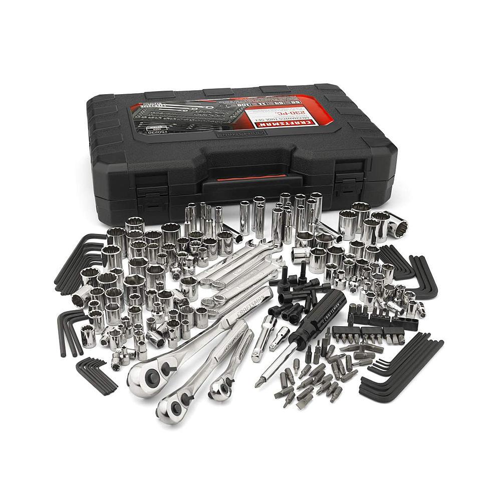 Craftsman 230 pc Mechanic Tool Set $75.19, 311 pc w/75 tooth ratchets $158.59