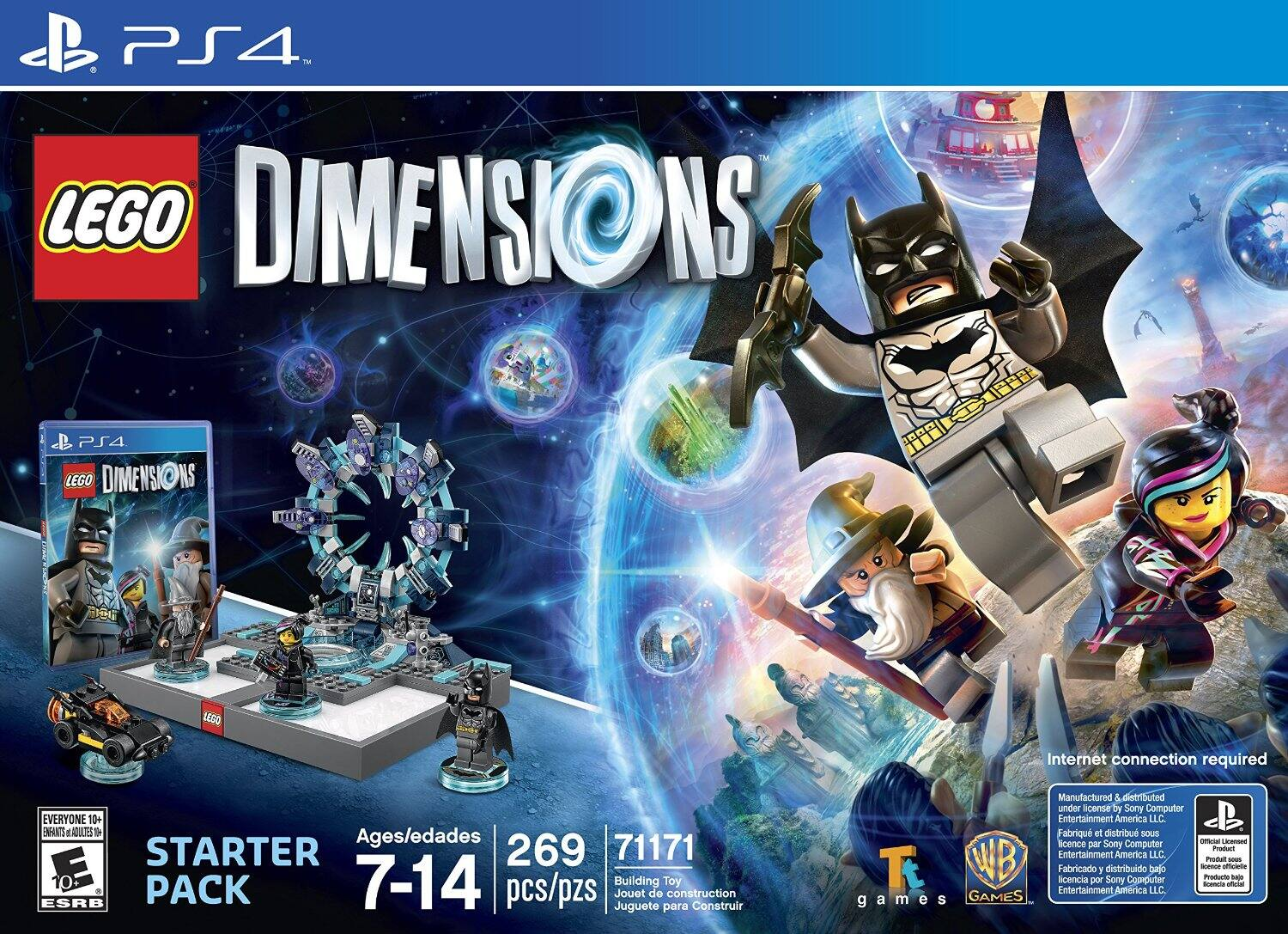 LEGO Dimensions Starter Pack (PS4, Xbox One, or Wii U) $39.99 w/ GCU + Free Shipping