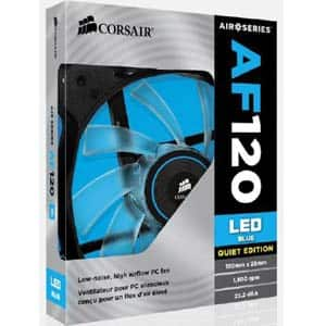 Corsair Air Series AF120 Blue LED Case Fan  $5 + Free Store Pickup