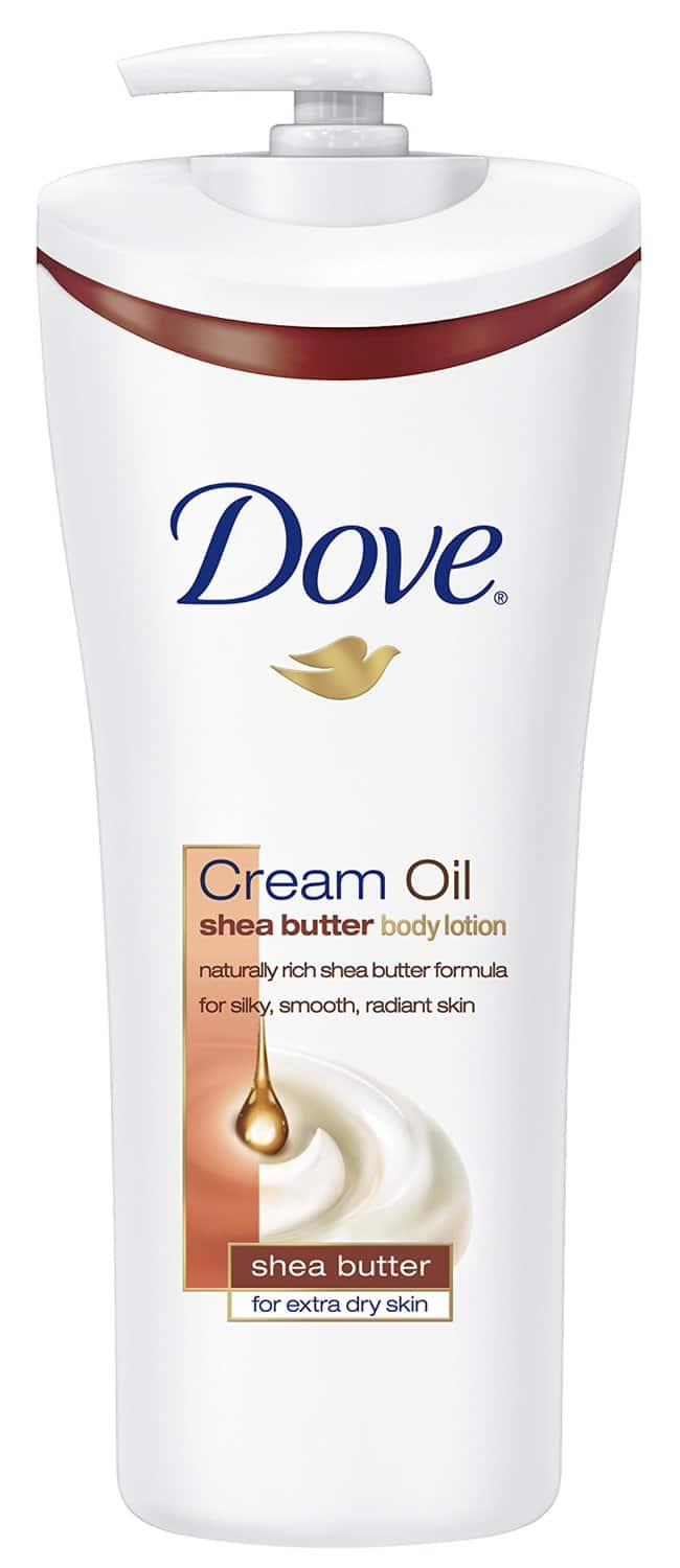 Dove Body Lotion, Cream Oil Shea Butter 13.5 oz for $3.50 AC + SS+ Free Shipping @Amazon