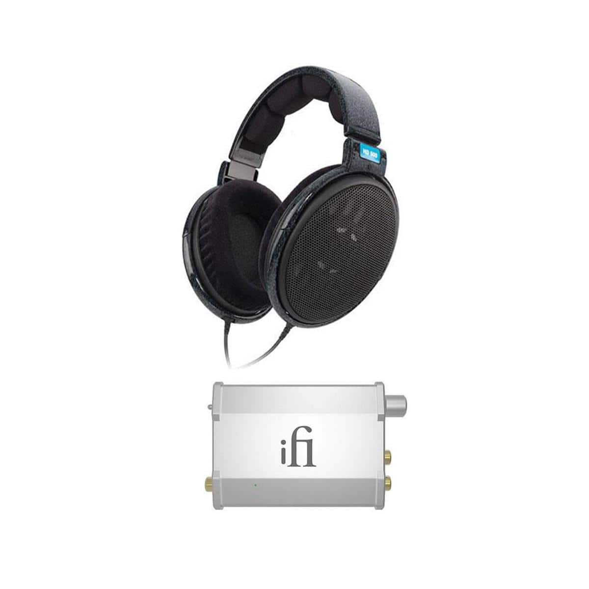 Sennheiser HD600 Headphones + iFi Nano iDSD Portable Amp / Dac $400 + free shipping