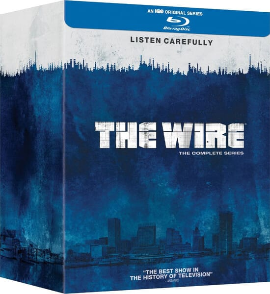 The Wire Complete Season 1-5 (Region Free Blu-ray) $58.96 Shipped