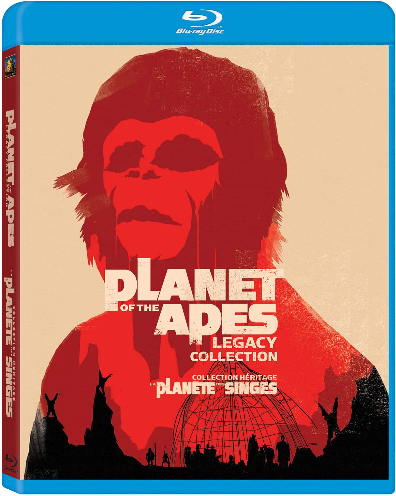 Planet of the Apes Legacy Collection (Blu-ray) $16 Shipped