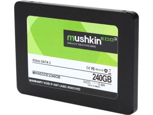 "Mushkin Enhanced ECO3 2.5"" 240GB SATA III TLC Internal Solid State Drive (SSD) at ebay with NewEgg $53.99"