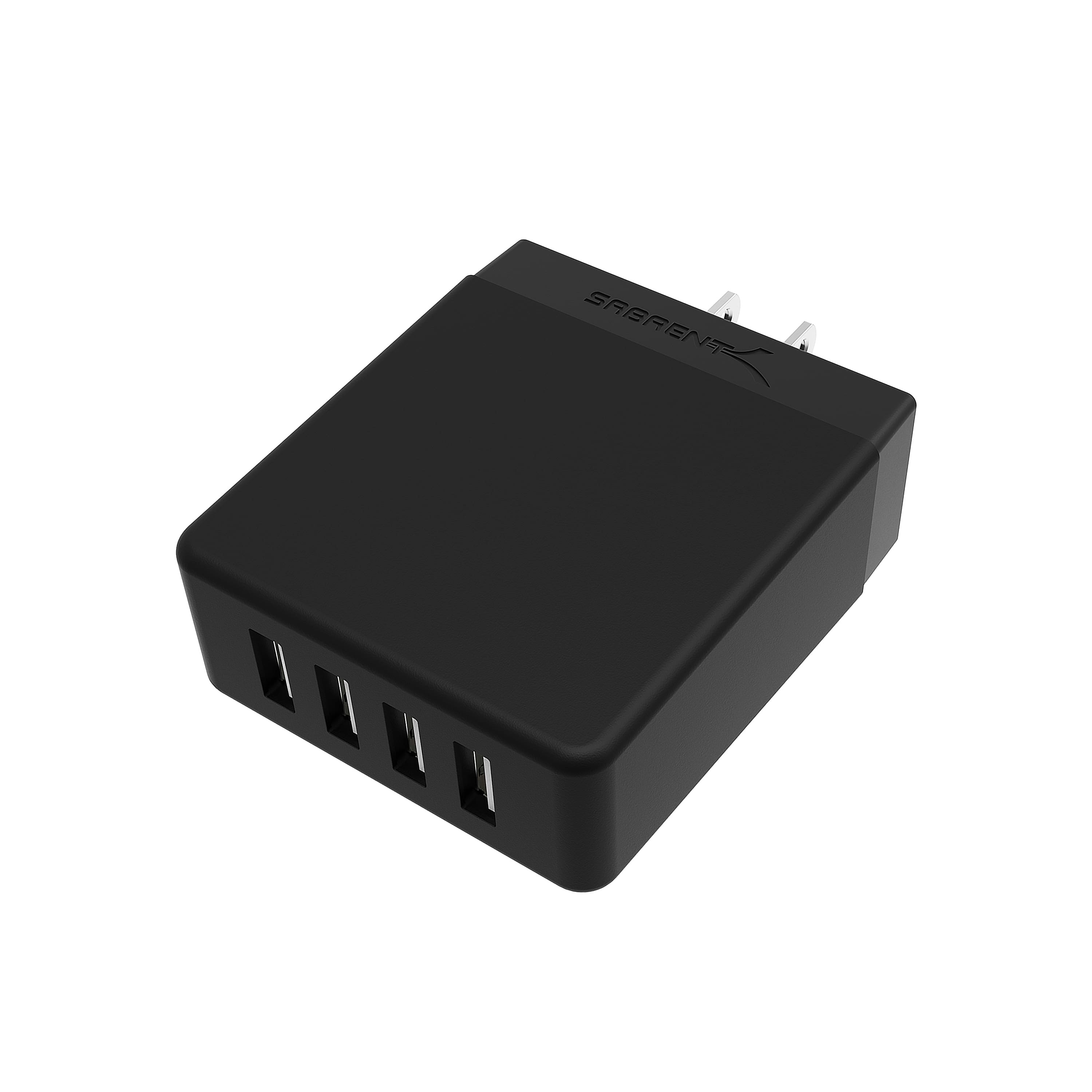 Sabrent USB Chargers: 5 Port 50w $10, or 4 port 40w $9 + free shipping