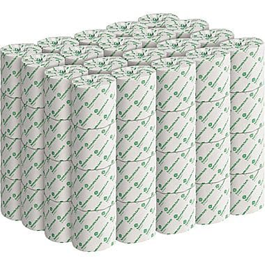 Sustainable Earth by Staples® Bath Tissue, 2-Ply, White, 552 Sheets/Rolll, 80 Rolls/Case  $24.99
