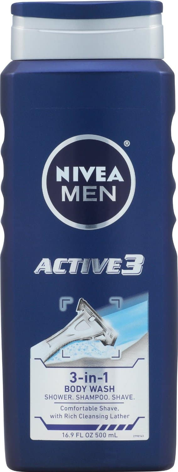 3-Pack 16.9oz Nivea Care and Happiness Moisturizing Body Wash $7.91+ Free Shipping (Prime Members)