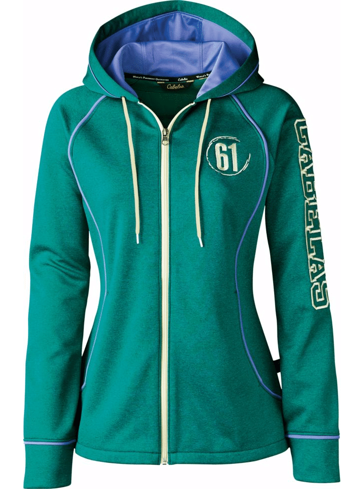Cabela's Women's Trail Trainer Full-Zip Hoodie  $11 + Free Ship to Store