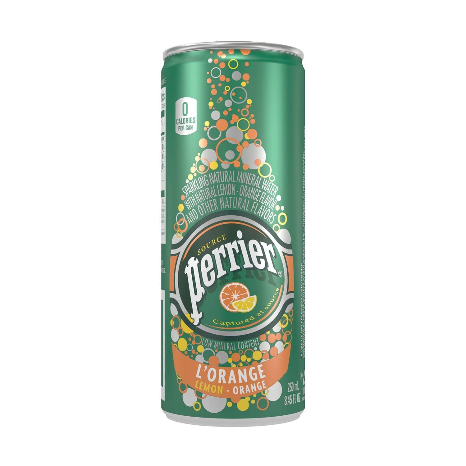 Perrier Sparkling Natural Mineral Water, Lemon Orange, 8.45 Ounce (Pack of 30) - $12.01 w/S&S and 20% off coupon @ Amazon.com