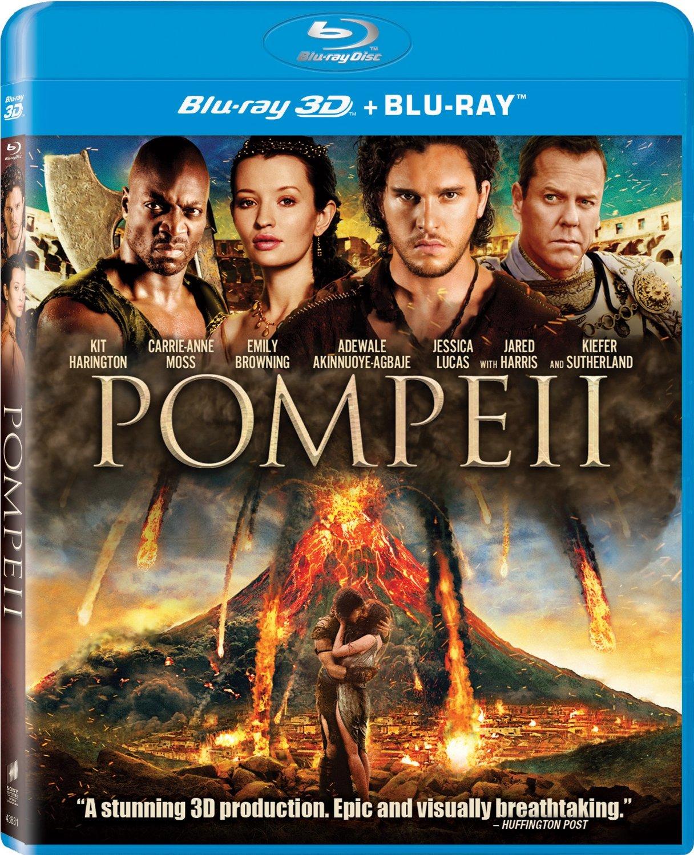 Pompeii (3D Blu-ray + Blu-ray + Digital HD)  $9