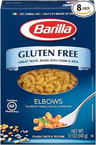 8-Pack 12oz Barilla Gluten Free Elbows Pasta  $10.80 + Free S&H