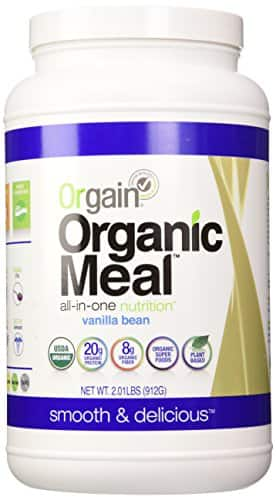 Orgain Organic Meal All-in-One Nutrition, Vanilla Bean, 2.01 Pound $17.62 w/coupon & 15% SS