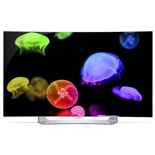 "New LG Electronics 55EG9100 55"" Class 1080p Smart Curved OLED 3D TV with webOS 2.0 - $1149 Via Adorama (ebay)"