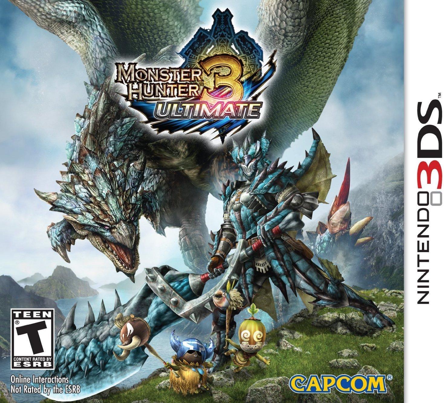 Capcom Nintendo 3DS/Wii U Digital Games: Monster Hunter 3: Ultimate $9.99, Super Street Figher IV: 3D Edition, Resident Evil: Revelations $4.99 & More