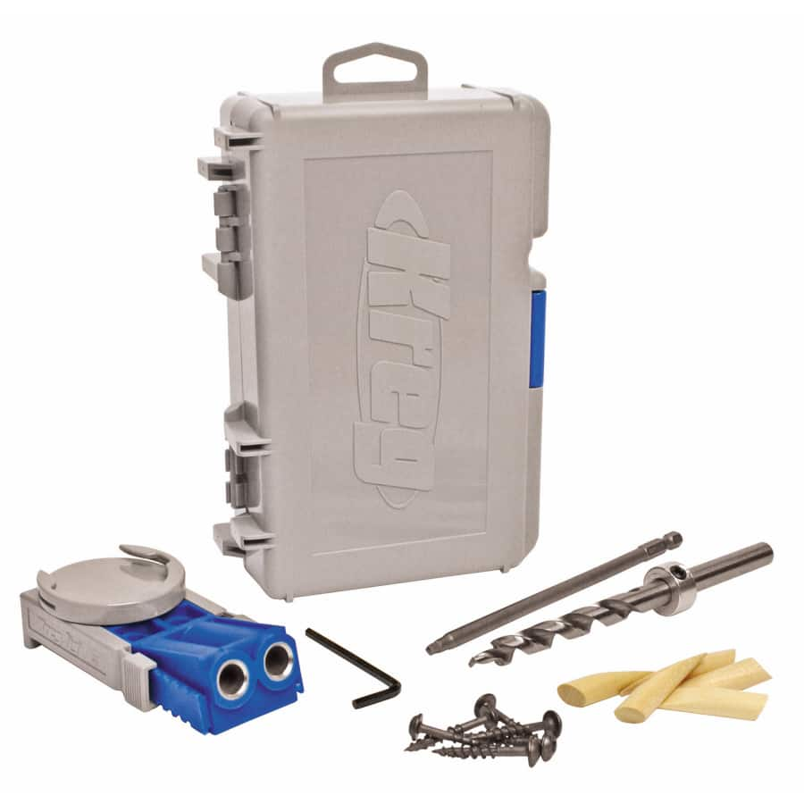 FREE KREG Multi-Purpose Layout Tool, a $14.98 value, when you buy R3 KREG Pocket Hole Jig $39.99 @ lowes