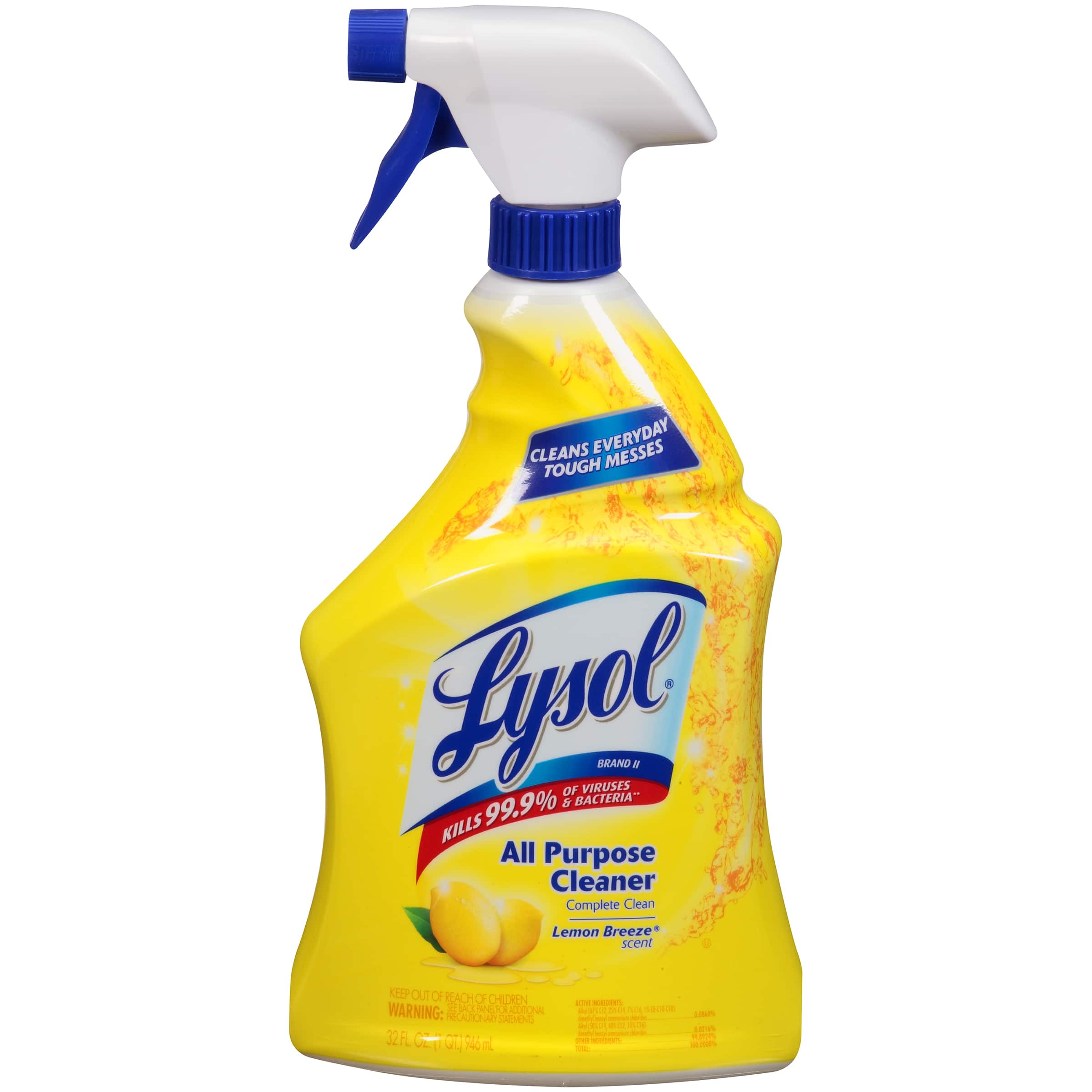 Target.com - 4x Lysol All Purpose Lemon Breeze Cleaner - 32 oz for $5.97 w/ Free In-Store Pickup