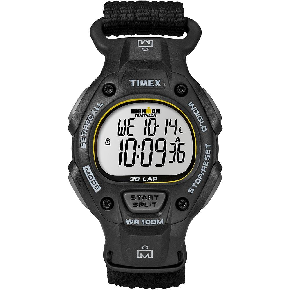 [$17.58] Timex Ironman 30-Lap Traditional Full-Size Watch (Black Fast Wrap) -- Sears