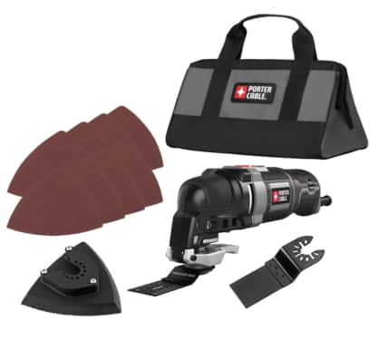 Porter-Cable 12-Piece 3-Amp Oscillating Multi-Tool Kit $49.99 + Free Shipping