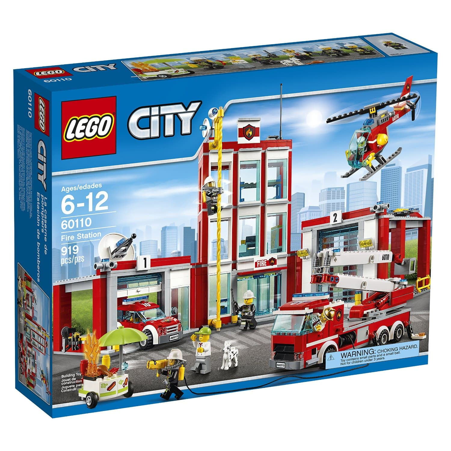 LEGO City Fire Station  $64 + Free Shipping