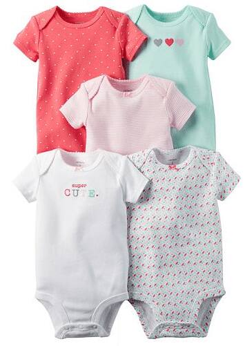 5-Pack Carters Print Bodysuits $8.85, SONOMA Goods for Life Girls' Slip-On Sneakers $8.83, more + free store pickup at Kohls