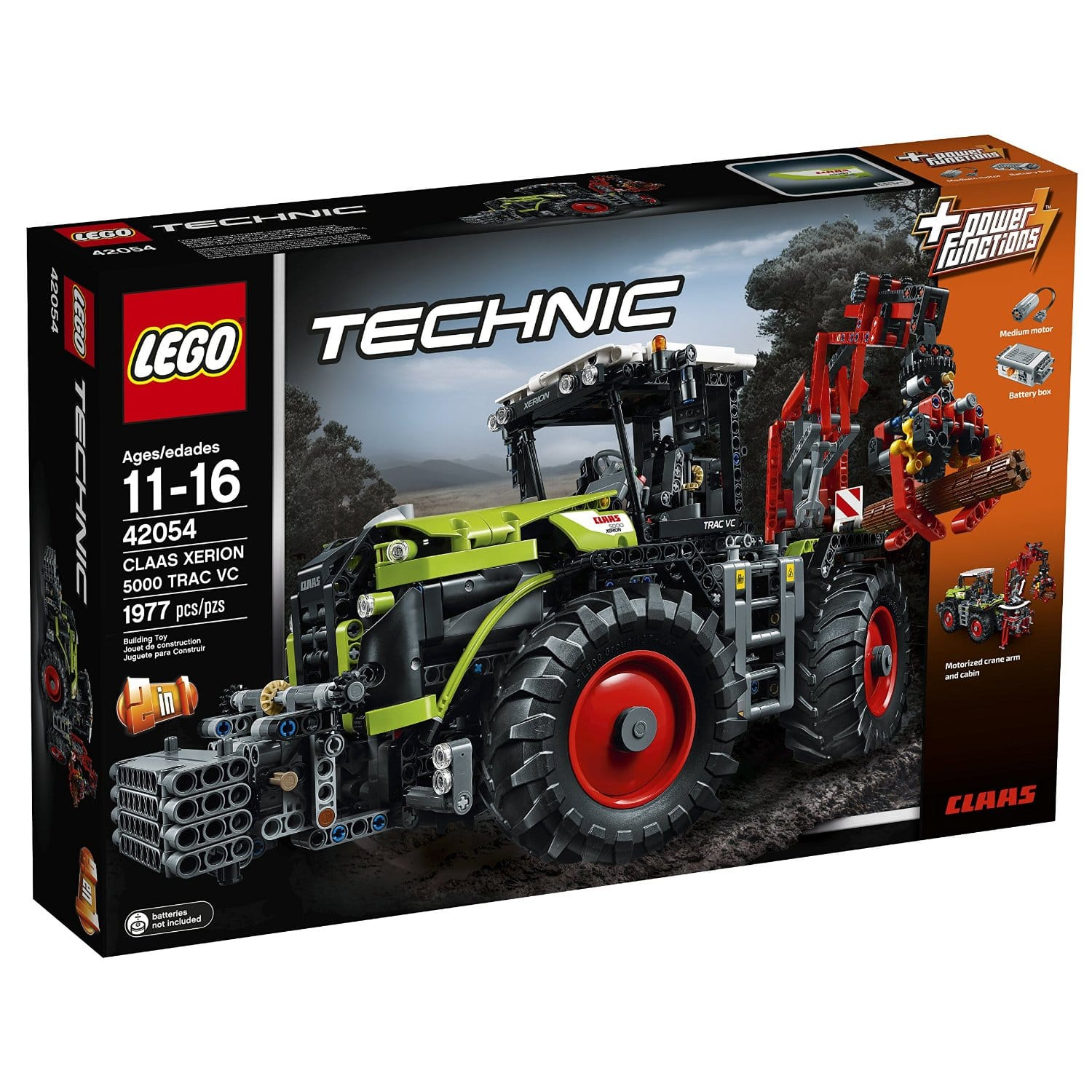 LEGO Technic Claas Xerion 5000 Trac VC Building Kit  $135 + Free Shipping
