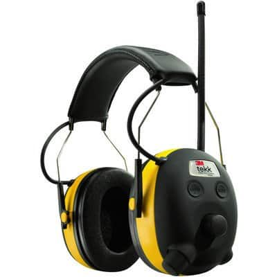 3M Tekk Protection WorkTunes AM/FM Radio/MP3 and Hearing Protector, $25 w/free shipping at Northern Tool