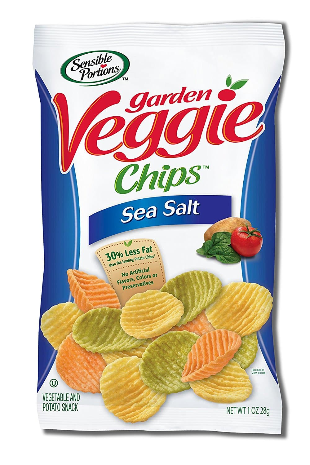 24-Pack of 1oz. Sensible Portions Chips  $15 & More + Free S&H