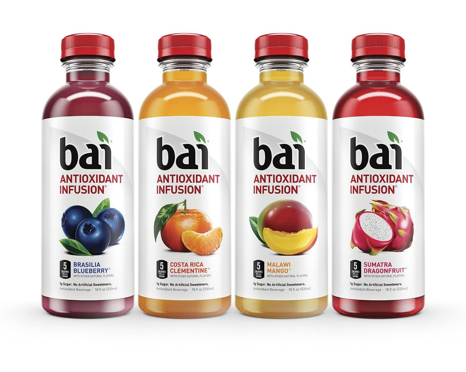 12-Pack of 18oz. Bai Antioxidant Infused Beverages (various)  from $13 + Free Shipping