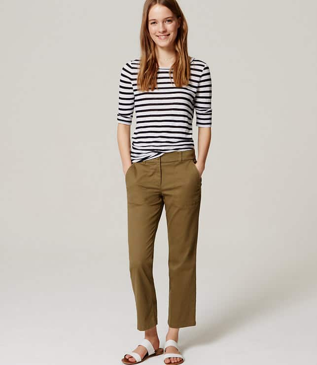 Ann Taylor Loft: 50% Off Sitewide: Women's Shorts from $5, Women's Tops from $2.50, Pants from $10, More + free shipping