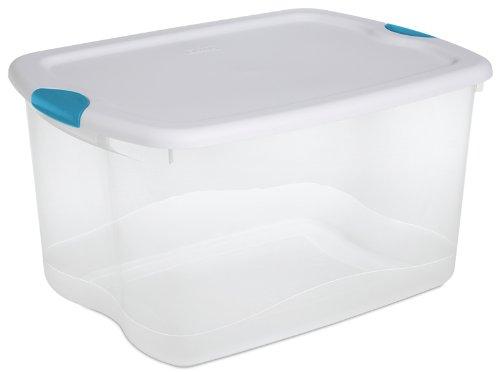 Sterilite 66 quart containers: 4 for $13.79 on Amazon