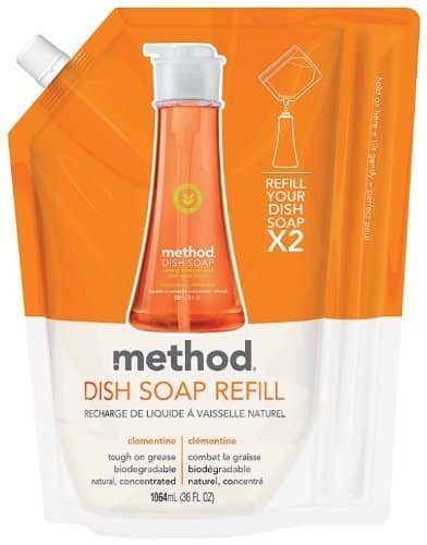 3x 36oz Method Dish Soap Refill (Clementine) $9.48, 3x 28oz Method All Purpose Cleaner (Cucumber) $5.68 & More + Free Shipping