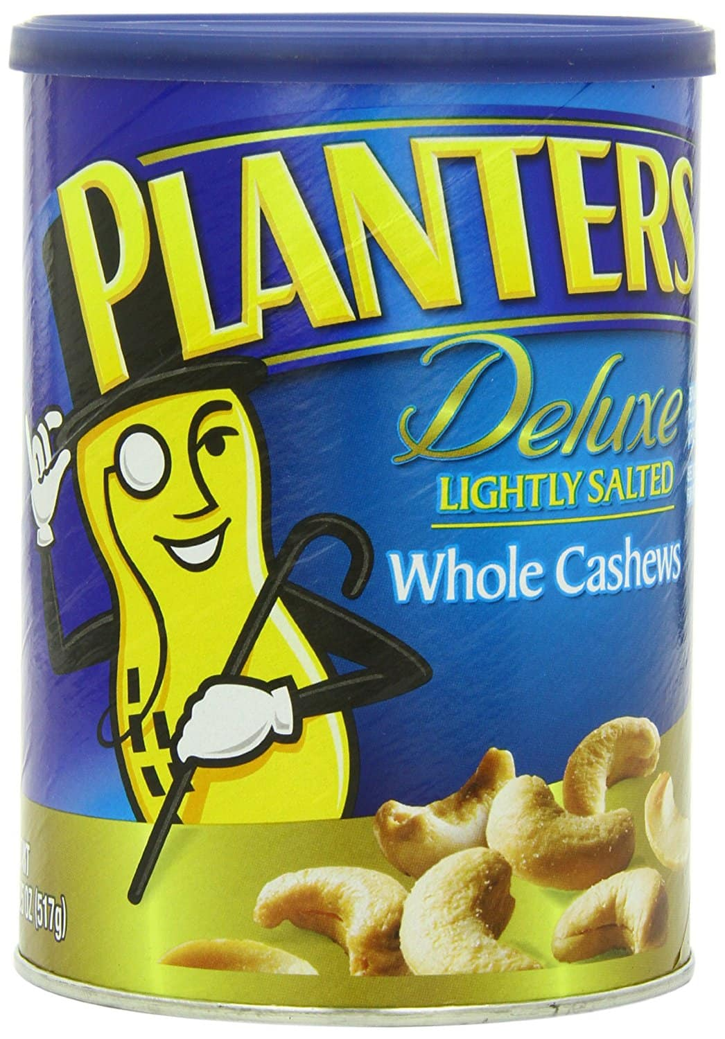 18.25oz Planters Deluxe Whole Cashews (Lightly Salted)  $6.40 + Free Shipping