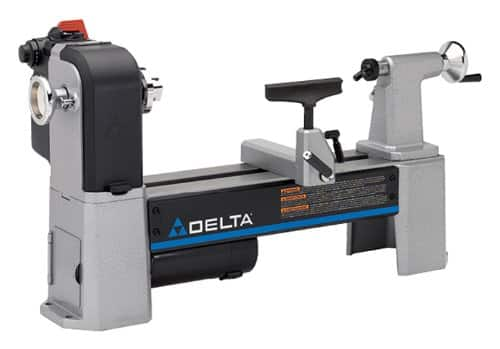 """Delta Industrial 12-1/2"""" Variable-Speed Midi Wood Lathe  $363 + Free Shipping"""