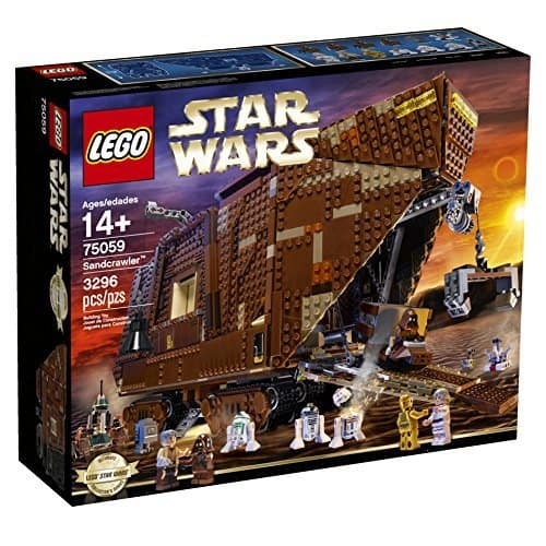 LEGO Star Wars 75059 Sandcrawler  $262.80 Prime Amazon Shipped OR LEGO Star Wars 10236 Ewok Village $218.98 Prime Amazon Shipped