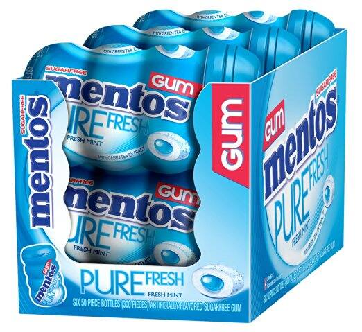 6-Pack of 50-Pieces Mentos Gum (Pure Fresh Mint) $9.75 or less + free shipping @ Amazon