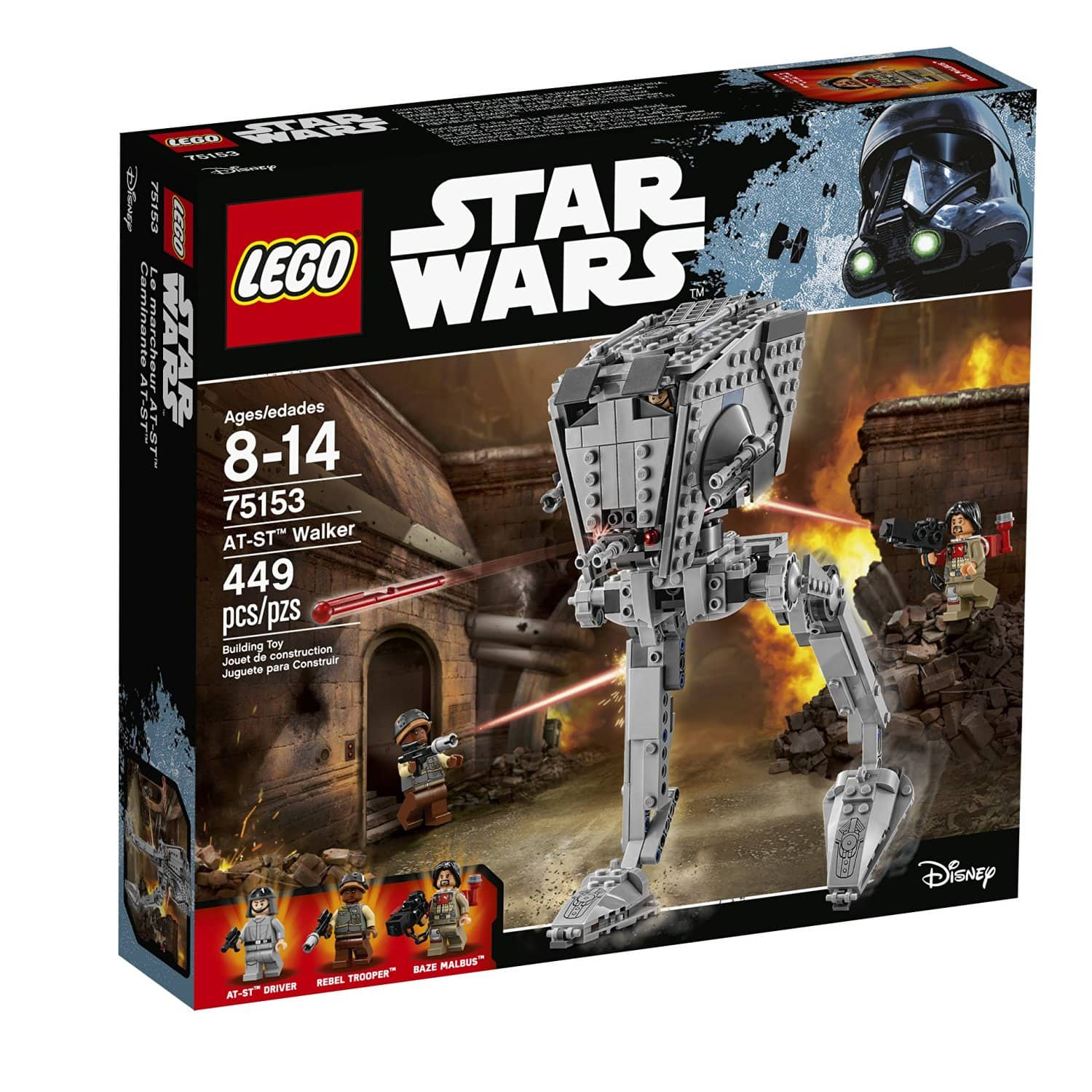 LEGO Star Wars AT-ST Walker  $33 + Free Store Pickup
