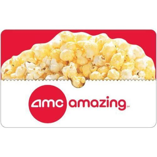$50 AMC Theatres Gift Card + $10 Bonus Code (Email Delivery)  $50 & More